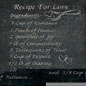 recipe for love