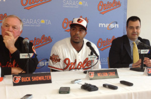 Notes and quotes from today's Nelson Cruz press conference