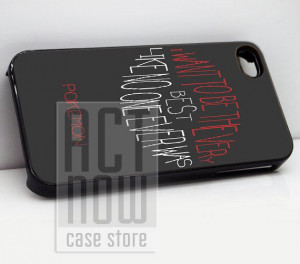 Best Pokemon Quote - for case iPhone 4/4s/5/5c/5s-Samsung Galaxy S2 ...