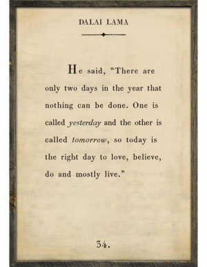 Dalai Lama Quote Vintage Framed Art Print dalai lama quotes, art ...