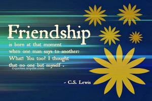 30 Impressive Friendship quotes