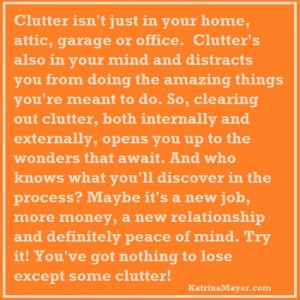 My Top 10 Clutter Quotes from Pinterest
