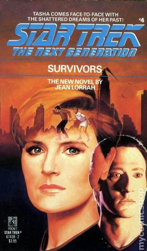Star Trek The Next Generation Survivors PB (1989 Novel) #1-1ST