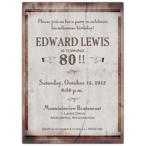 80th Birthday Invitations and check another quotes beside these 80th ...