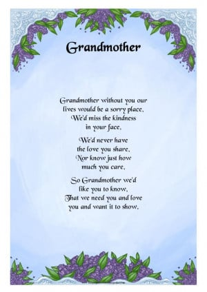 Grandma Poems From...