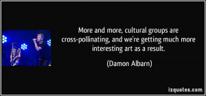 damon albarn quotes art