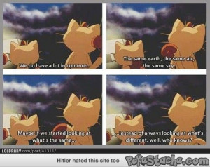 Wise Words From Meowth