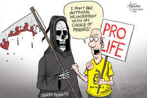 Pro Death Penalty Political Cartoons