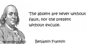 Famous quotes reflections aphorisms - Quotes About Logic - The absent ...