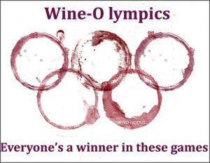Wine Olympics. Funny lol