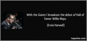 Willie Mays Quotes Hall of famer willie mays.