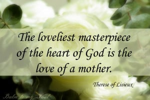 we all have a mother figure that embodies love for love and mother ...