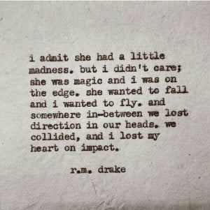 gods–daughter:R.m. drake on We Heart It.