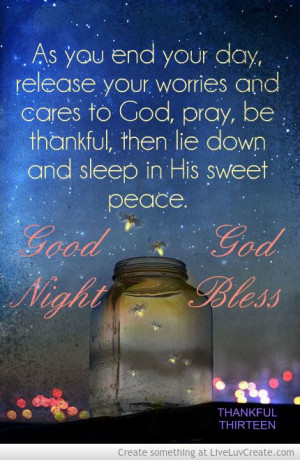 good night god bless more good night goodnight blessed night quotes