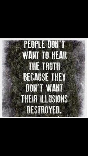 The truth hurts right!! Good night god bless sweet dreams!!
