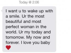 quote, girlfriend, cute, heart, text, teen, wake up, love, boyfriend ...