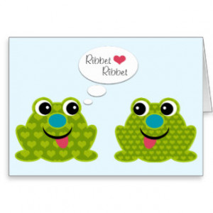 Frog Sayings Cards & More