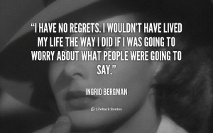 ... Ingrid Bergman at Lifehack Quotes Ingrid Bergman at quotes.lifehack