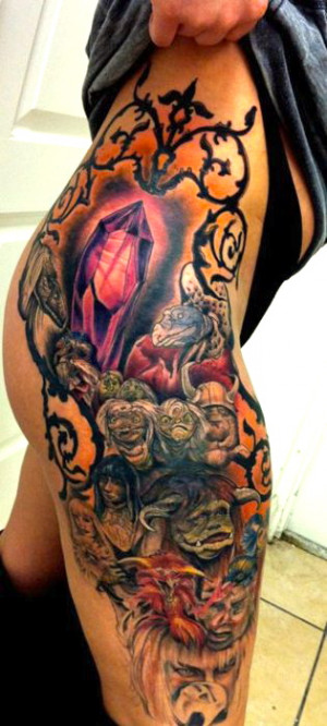 Labyrinth Tattoos: Labyrinth Castle Worm Quotes. QuotesGram