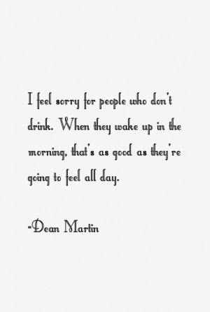 Dean Martin Quotes & Sayings