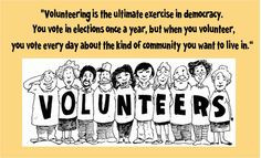 ... in democracy more volunteers quotes neat quotes quotes such neat quote