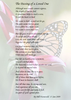 Poems About Loss of a Loved One