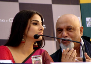 Vidya Balan, Pritish Nandy