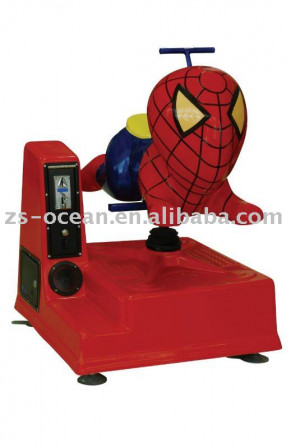spider man kiddie rides bella dei bambini giostre