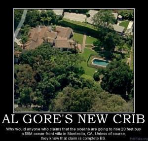 Al Gore's New Crib.