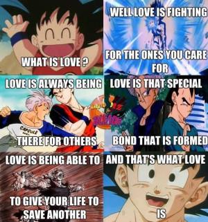 DBZ:: Yup. That's Goku... I mean love.