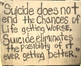 Suicide Quote