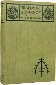 ... book, read, notabl book, sixpenc, somerset maugham, book cover