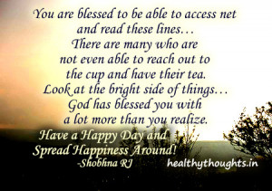 you-are-blessed-have-a-happy-day-and-spread-happiness-around-shobhna ...