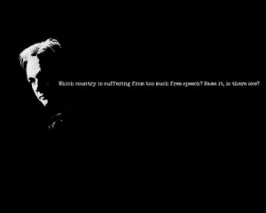 black and white minimalistic quotes julian assange wikileaks 1280x1024 ...