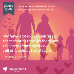 Poems about Family and Quotes