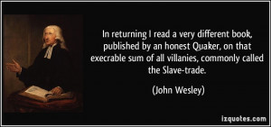 More John Wesley Quotes