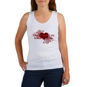 Twilight Quote 'Heroin' Red Twilight Women's Tank Top by CafePress