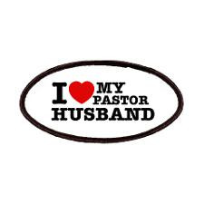 love my Pastor Husband Patches for