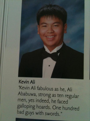 Dump A Day Funny Yearbook Quotes...