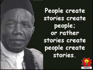 thought provoking collection of Creative Quotations from Chinua Achebe ...