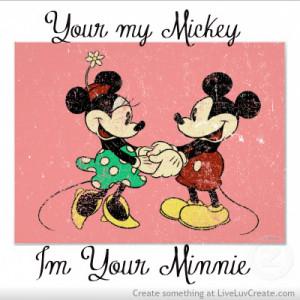 Your Mickey Im Minnie