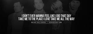 Red Hot Chili Peppers Under The Bridge Quote Red Hot Chili Peppers