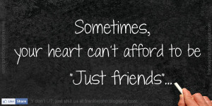 Just Friends Quotes Words...