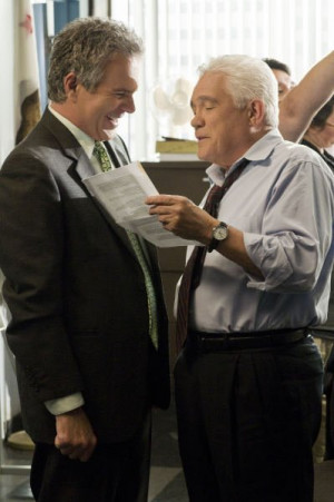 Still of G.W. Bailey and Tony Denison in The Closer (2005)