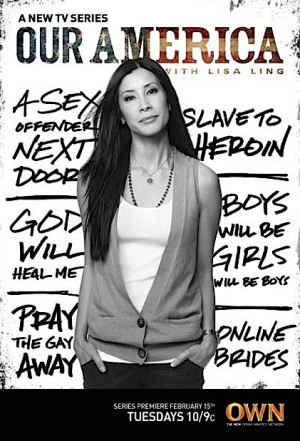 ... Lisa Ling...always on my smart-sexy-kick-ass-ladies-I-admire list
