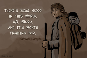 Quote by samwise gamgee from Image