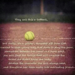 softball!!! I can't wait to teach my daughter