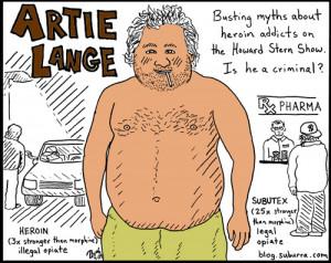 Howard Stern, Artie Lange, and Heroin Legalization