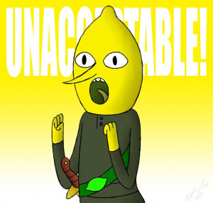 The Earl of Lemongrab by DarthGuyford
