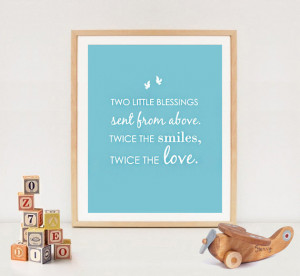 Sister and brother wall art quote - INSTANT DOWNLOAD - siblings love ...
